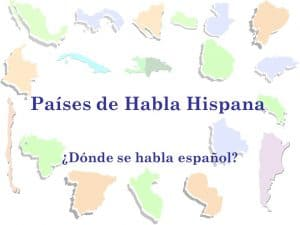 Los países de habla hispana establecimiento